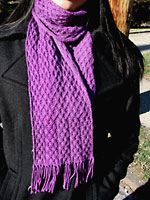 Achernar, a cabled scarf