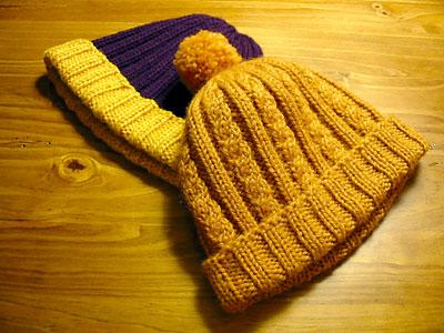 Ribbing-based baby hats