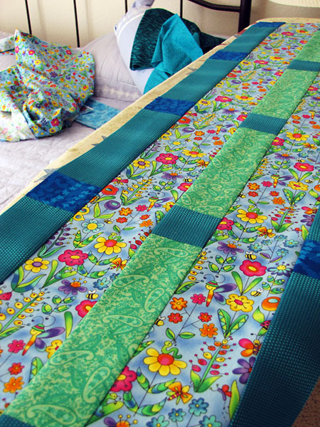 Focal panel, baby quilt