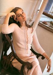 Vintage Pink Cardigan