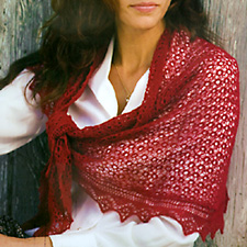 A curved shawl, p. 72