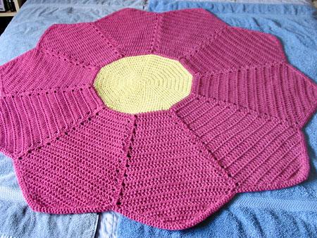 Cobijita Floresita Baby Blanket