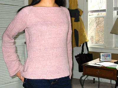 The original Hourglass Sweater