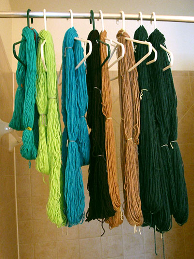 Reclaimed yarn