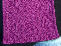 Amy Cabled Scarf