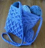 Quinn, a cabled bag