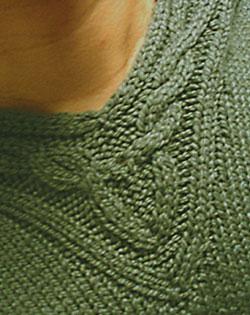 Closeup of Rogue's neck detail