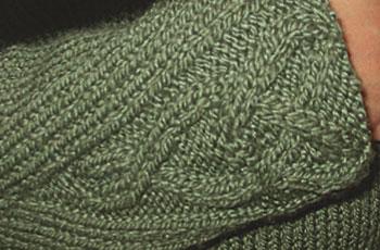 Closeup of Rogue's wrist detail